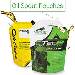 Engine Oil Spout Pouch