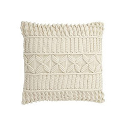 Macrame Cushion Cover Throw Pillow