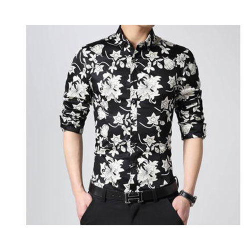38aebdd4ff152e Cotton Floral Print Men's Printed Shirt, Size: S-XL, Rs 500 /piece ...