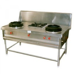 Chinese Gas Range 2 1 Burner