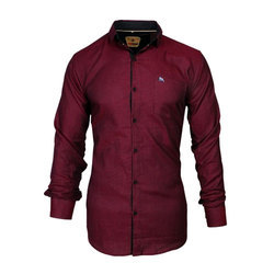 Mens Partywear Shirt, Size: S-XXL