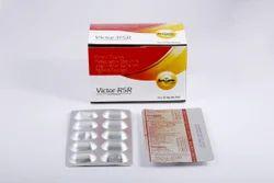 Rabeprazole Sodium And Aceclofenac Sustained Release Capsule