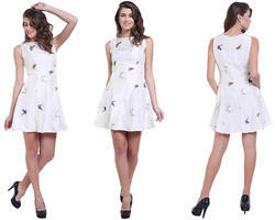 White Western Dress