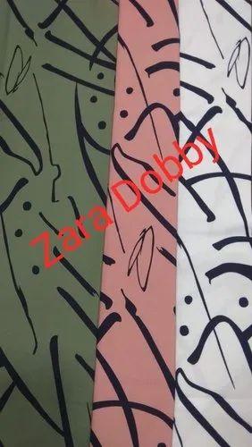 Printed Lycra Fabric