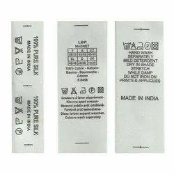 Wash Label