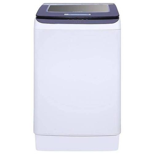 Lloyd 7.5 kg Fully Automatic Top Load Washing Machine, LWMT75TGS, Purple & White