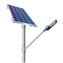 18 Watt Solar Semi Integrated Street Light with Lithium/LifePO4 Battery
