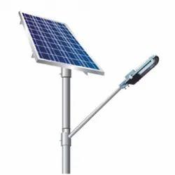 18 Watt Solar Semi Integrated Street Light with Lithium/LifePO4 Battery