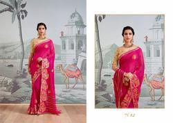 Kessi Suwarna Series 7601-7612 Stylish Party Wear Viscose Saree