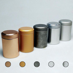 Tea Tin Cans