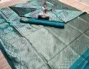 Designer Banarasi Jacquard Saree With Blouse