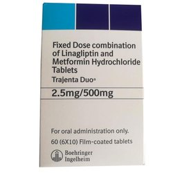 Linagliptin And Metformin Hydrochloride Tablets