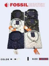 Cotton In 12 Men's Printed Casual Shirts
