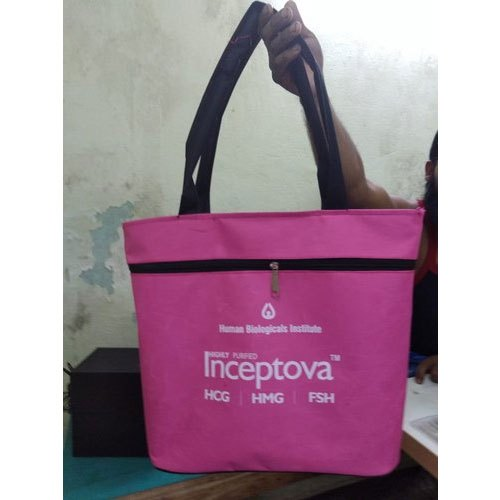 Polyester Handled Carry Bag, For Shopping