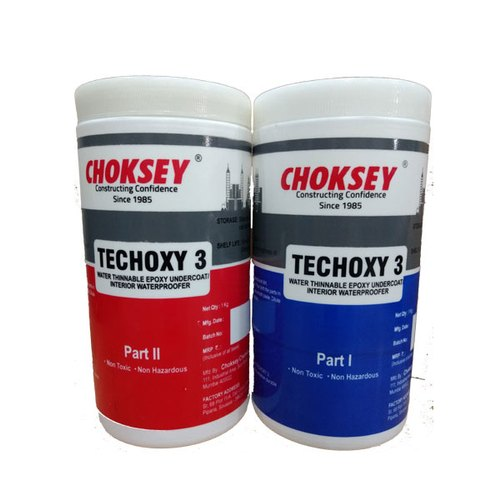 Choksey Water Based Epoxy Coating, Packaging Size: 2 Kg, Packaging Type: Plastic Container