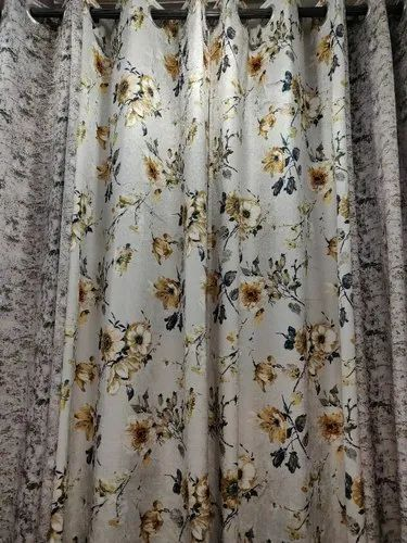 MKVK Designer Curtain Fabric, GSM: 250-300