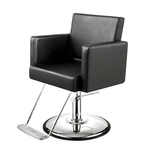Black Modern Salon Chair Size 26 X 25 X 29 Inches Rs