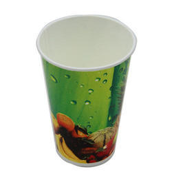 Printed Disposable Juice Paper Cup