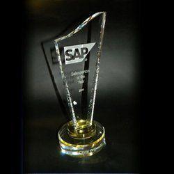 Salesperson Crystal Trophy