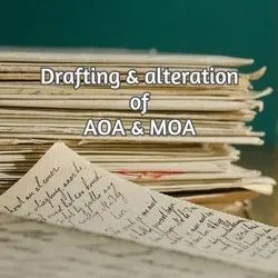 Drafting And Alteration Of AoA & MoA Service