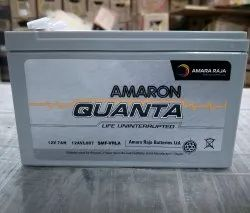 Quanta 12V-7ah SMF Batteries, Warranty: 1 year