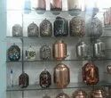Hammered Printed Copper Water Matka, Packaging Type: Box, Size: 5l