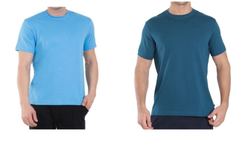 Mens Polyester Round  Neck T Shirt