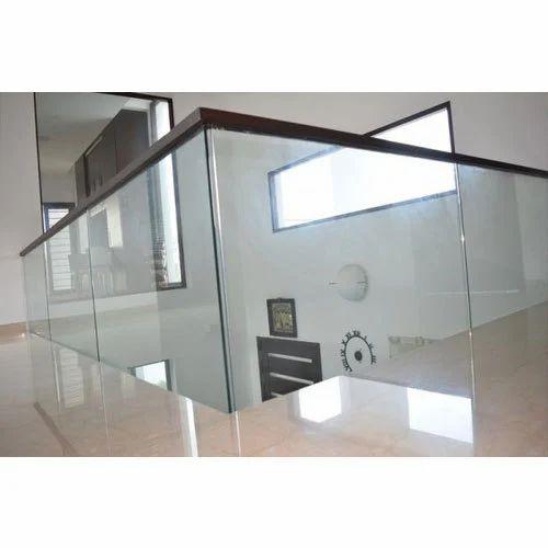 Deck Glass Handrail