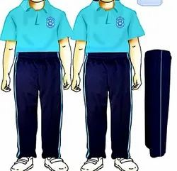 Multicolor Polo With Piping Pant School Uniform