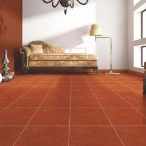 Ceramic Dark Brown Floor Tile Size In