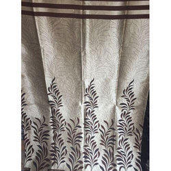 Multicolor Polyester Cream Matty Printed Curtain, For Home