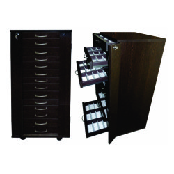 Sunglasses Storage Display Cabinet Trolley