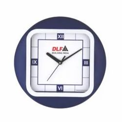 Skymy DLF Promotional Round with Square Wall Clock