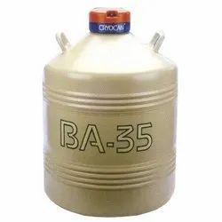 BA20 Liquid Nitrogen Container Cryocan IOCL