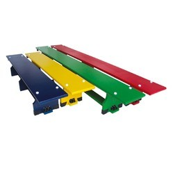 Gymnastics Bench Wooden & Colored 2.6 mtr Alluminium Leg G401B