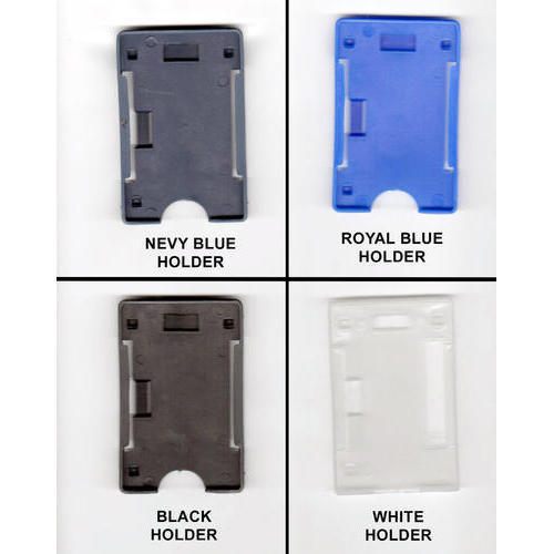 Plain Plastic Id Card Holder