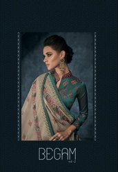 Designer Heavy Pure Fill Silk Suit
