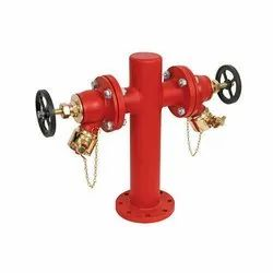 Double Headed Hydrant Valves