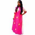 Ladies Silk Leheriya Gown