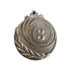 Antique Silver Plated Medal