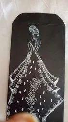Handmade Paper Handmade Creations Envelope Craft, Size: 3 Inx 7.5 In