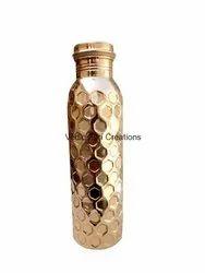 CU-04 Copper Bottle Diamond Cut