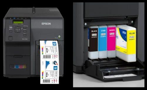 Epson And TM C7510G Color Label Printer