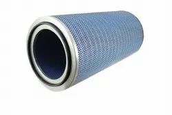 Manual Synthetic Fiber Gas Turbine Air Intake Filters, For Air, Gas Apllication