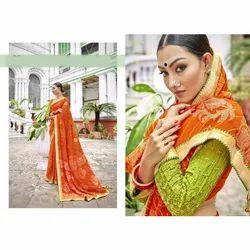 Ladies Bandhani Saree
