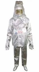 Aluminized Fire Proximity Suit EN 1486 : 2008-04