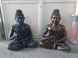 Purva Fibreglass Fiber Buddha Statue