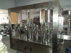 Continuous Bottle Filling Machine