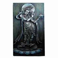 Lord Vishnu Holding Shankh Hanging Painting
