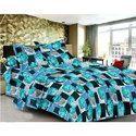 Blue Cotton Bed Sheet